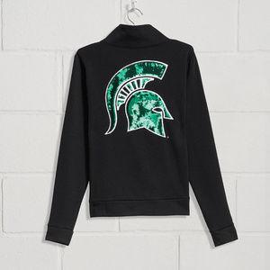 MSU SPARTANS Michigan State Bling Sweatshirt